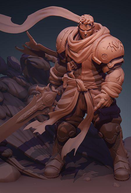 Oswaldo salazar battle chasers garri 9ecd9432 ggo8