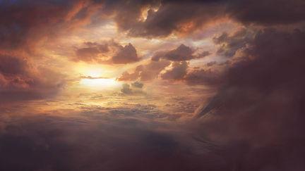 Horizon of Heaven, Digital Matte Painting (2005)