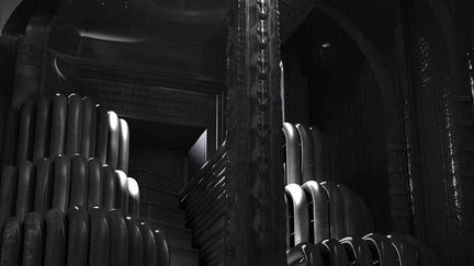 Ionic order in giger's stile :-)