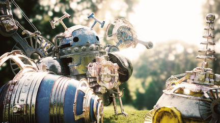 Afternoon of an old robot