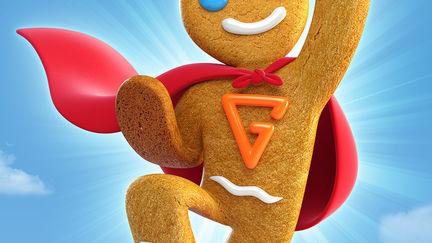 Super Gingerbread Man