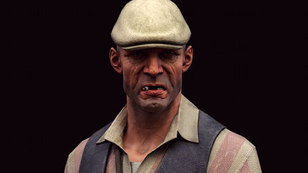"""Dishonored"" male character"