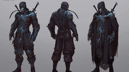 First concept - Shen Outcast