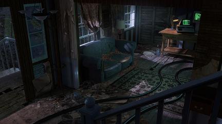 Traveler's Logs - Living Room