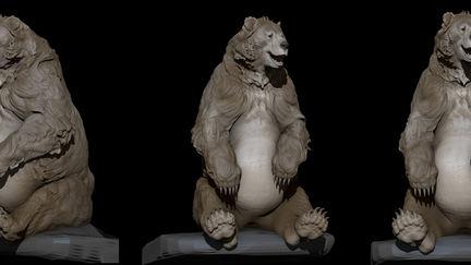 Baloo sculpt