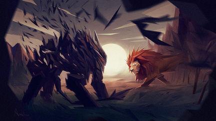 Lion Fight!