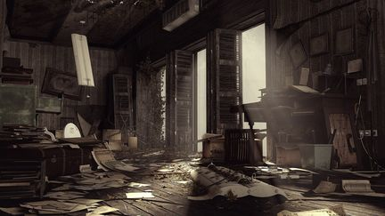 Abandoned Office - 2012
