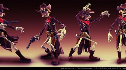 Spooky Spirits | Gunslinger