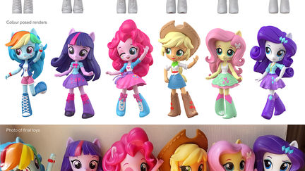 My Little Pony: Equestria girls mini - First wave.