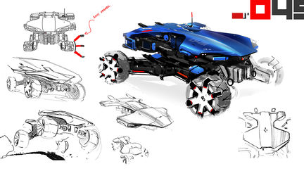RR05- ROVER SKETCH AND ADDITIONNAL SHOTS