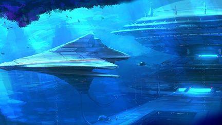 Speedpainting - Underwater Base