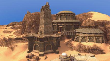 The Beliar Temple in Bakaresh / Gothic 3