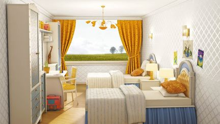 design a room for two girls