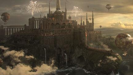 Castle of cliff