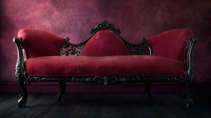 Neoclassical English Sofa