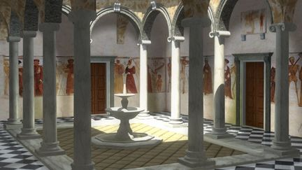Cloister: Painting with Conventional Light