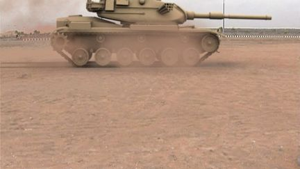 Synthetic Tank Camera Matched Scene