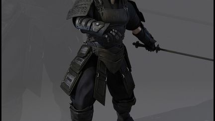 Fantasy Feudal Warrior