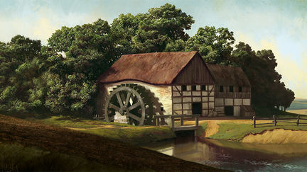 Animated History of Poland - watermill