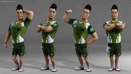 Tonka3D character