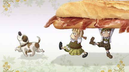 Krunch Family Kids Illustrations