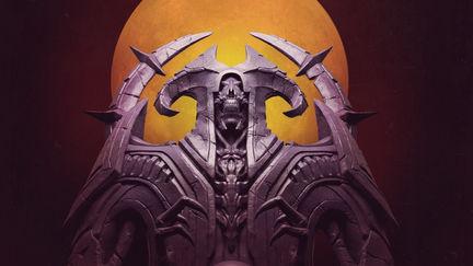 Doom DLC statues
