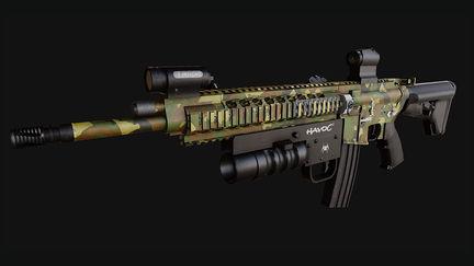 Ruger AR 15 Realtime Model