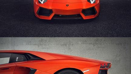 Lamborghini Aventador LP 700-4 Carpark