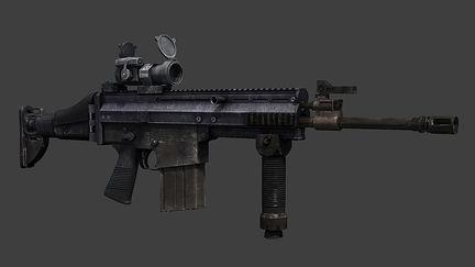 test gun