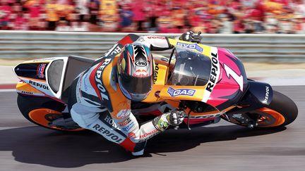 MotoGP07 Hayden cornering