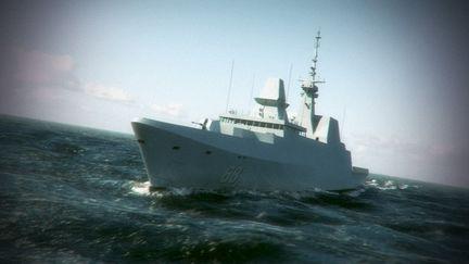 Singapore Navy Vessel : Formidable