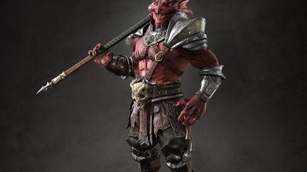 Taraghor - D&D 5e Barbarian