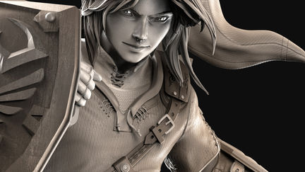 - Link from Legend of Zelda -