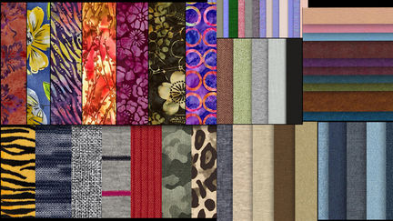 Free Seamless Fabric Texture Packs for Texturing 3D Clothes