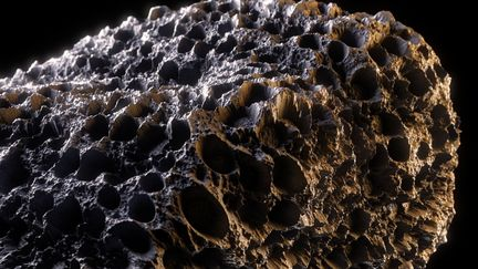 Microscopic rock