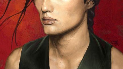 Portrait of an Asian Vampire