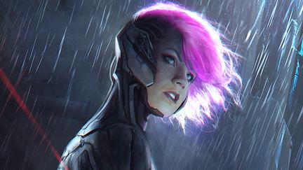 sci-fi badass girl