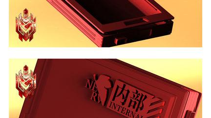 Eva iPhone3gs case for 3D print