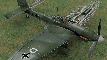 Ju87d Stuka Cut-away
