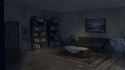 Silent Hill Homecoming living room
