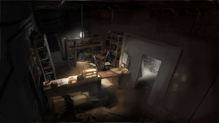 Silent Hill Homecoming repair shop 02