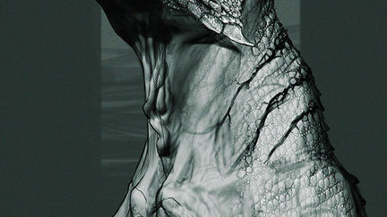 Monster Head 01