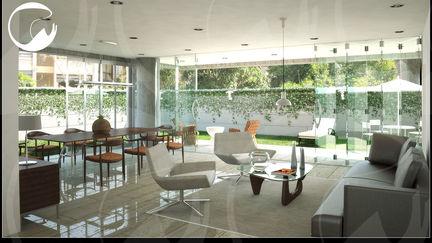 Apartment interior at Los Palos Grandes, Caracas
