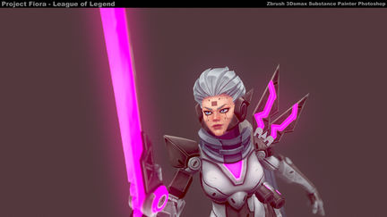 Project: Fiora - Handpaint
