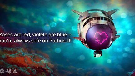 """k8bot / """"Bubblebutt"""" Valentine's Card for SOMA"""