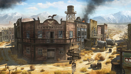 The Abandoned Town of San Reno
