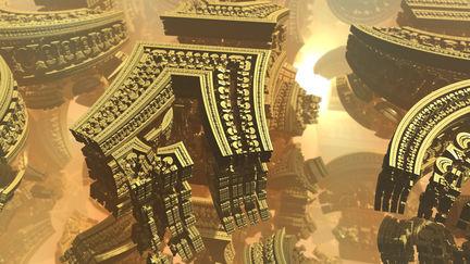 Ruins of an Ancient Alien Civilization