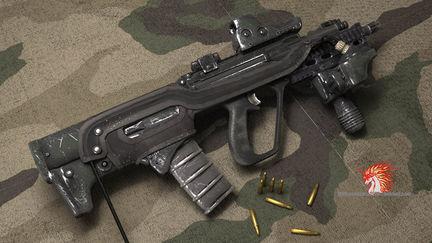 SAR-21   assault rifle