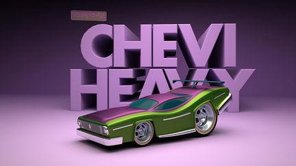 chevrolet - chevi toy crazy cars