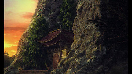 Temple on the mountains